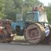 Úthenger MTZ traktorból.