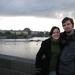 Fruzsi Nándi a Károly hídon