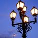 Öt karú lámpa