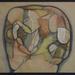 305 - Kováts Albert - Félsziget, 1988. 40x50cm - Aquarel-színes